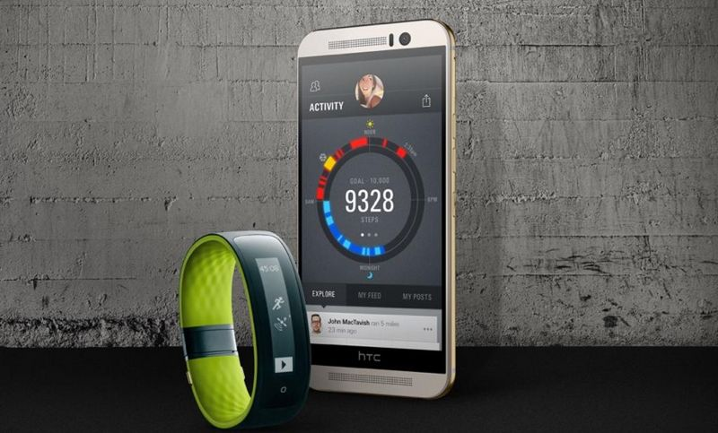 MWC 2015: HTC Grip, the first HTC connected  smartband with GPS built in