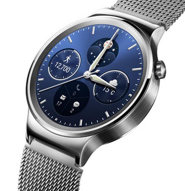 Huawei Watch silver