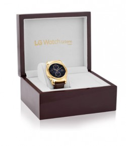 The LG Watch Urbane Luxe available for pre-orders